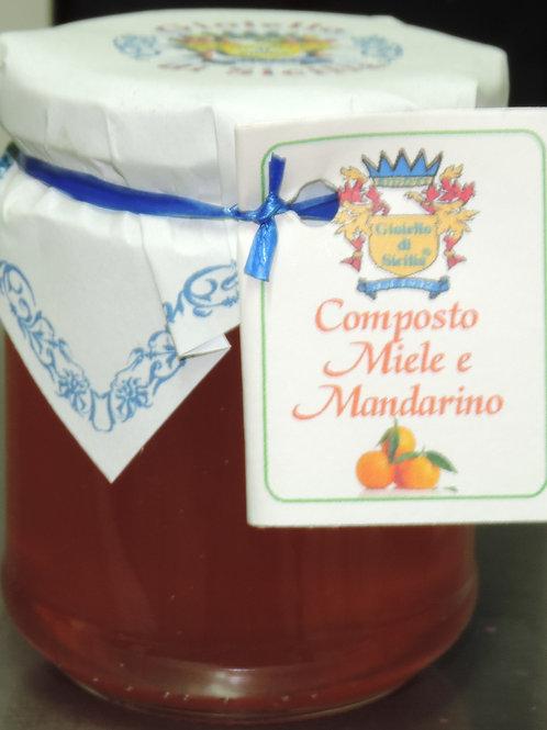 COMPOSTO MIELE E MANDARINO 250 G