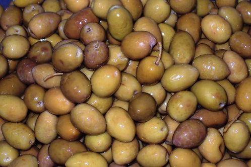 olive verdi  in salamoia   con nocciolo   1Kg