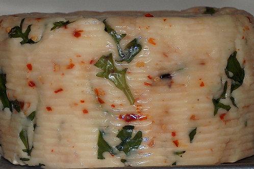 FORMAGGIO RUCOLA,OLIVE E PEPERONCINO BUONISSIMO 1 kg