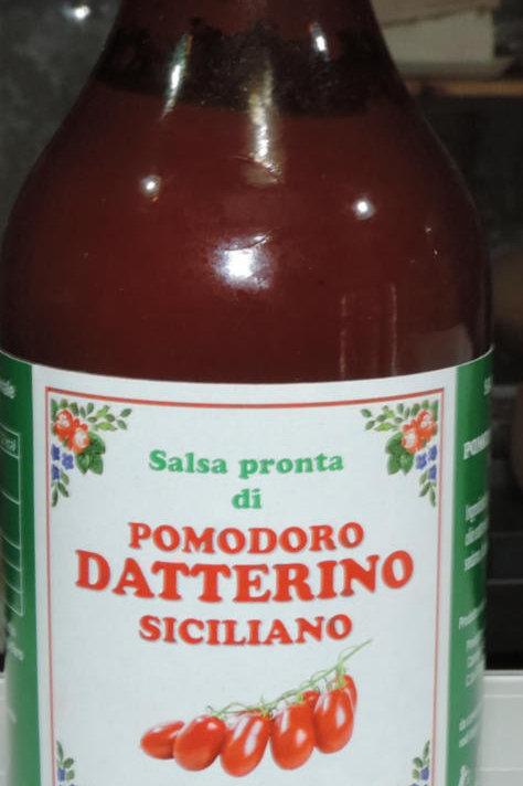SALSA PRONTA DI POMODORO DATTERINO siciliano sicilia 330 G