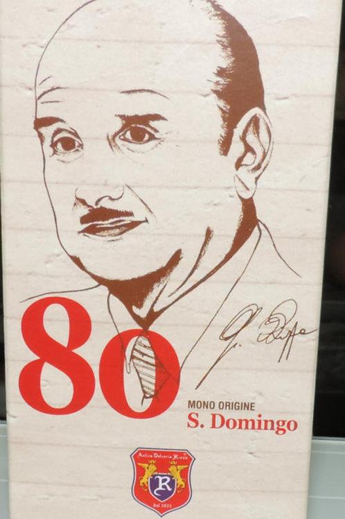 CIOCCOLATO DI MODICA FONDENTE MONO ORIGINE S. DOMINGO 80% DAL 1935 SICILIA 70 G