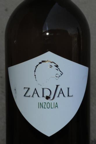 """VINO BIANCO INZOLIA """" ZADIAL '"""" VENTICOLLI 75 CL 12 % VOL SICILIA"""