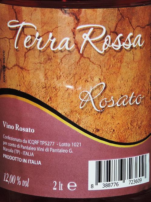 """Vino Rosato """" Terra Rossa """" Prodotto in Italia 12,50 % vol"""
