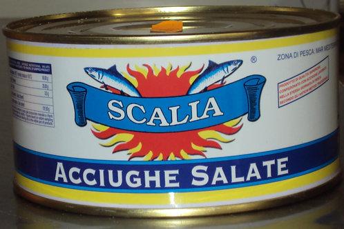 ACCIUGHE SALATE LAVORAZIONE SICILIA 1,700 Kg
