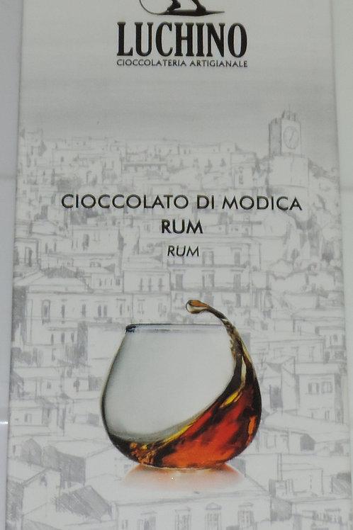 CIOCCOLATO DI MODICA RUM LUCHINO SICILIA 100 G