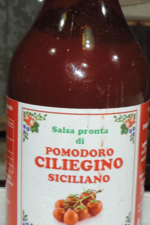 SALSA PRONTA DI POMODORO CILIEGINO SICILIANO Sicilia  330 G