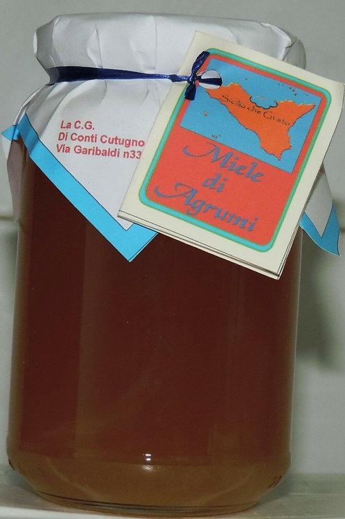 miele di agrumi ZAFFERANA ETNEA 500g