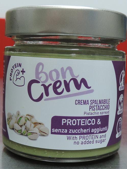 Crema spalmabi al pistacchio proteico senza glutine senza zuccheri aggiu 200g
