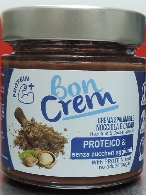 Crema spalm nocciola cacao proteico senza glutine senza zuccheri aggiu 200g
