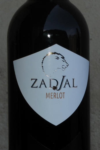 """VINO ROSSO MERLOT """" ZADIAL '"""" VENTICOLLI 75 CL 12,5 % VOL SICILIA"""