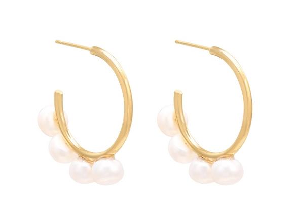 Honey Hoop Earrings