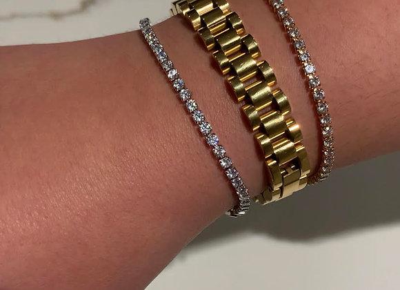 The Regina Tennis Bracelet