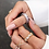 Thumbnail: Adjustable Gold Lucca Ring
