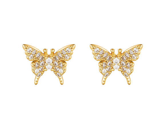 Shimmer Butterfly - Gold & Silver