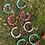 Thumbnail: Pop of colour hoops- Multiple colours