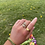 Thumbnail: Rainbow Snake Ring