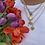 Thumbnail: High Standards Charm Tbar Necklace
