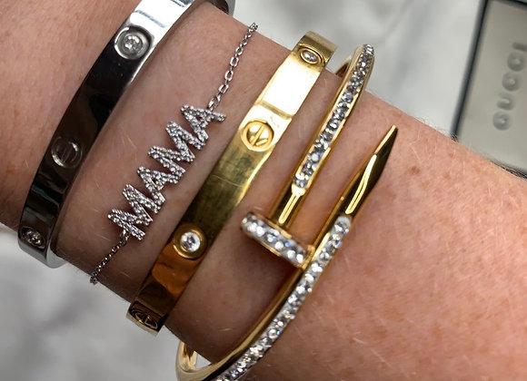 MAMA Bracelet Gold / Silver