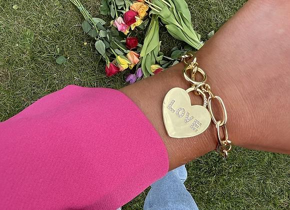 Love Charm Chain