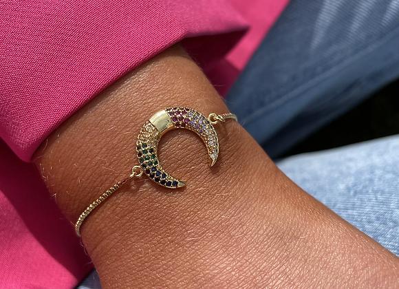 Maya Half Moon Bracelet