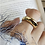 Thumbnail: Adjustable Silver Dome  Ring