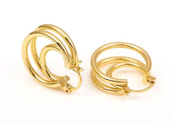 BETTY Tripple hoop earrings