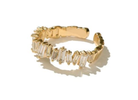 Adjustable Gold Lucca Ring