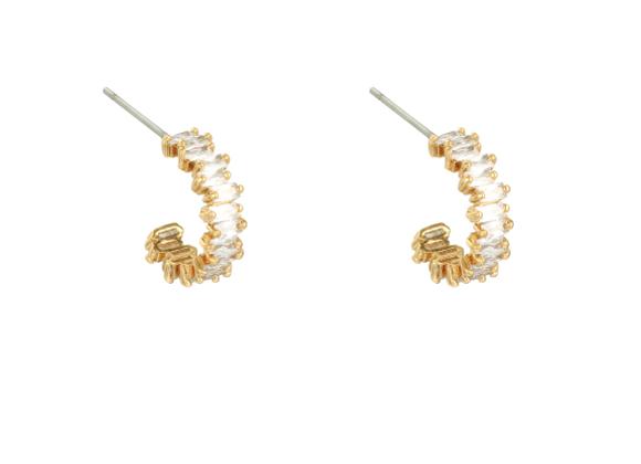 Bestie Mini Hoop Earrings Gold/Silver