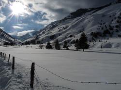 Plateau de Lhers hiver