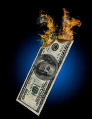 100 Dollars Burning