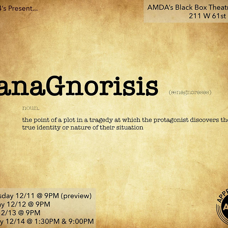 Anagnorisis - Graduation Showcase