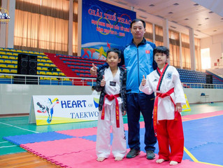 """Võ Việt Anh giành giải Ba Taekwondo quyền nam, và giải Ba Taekwondo đối kháng nam """"Giải Thể Tha"""