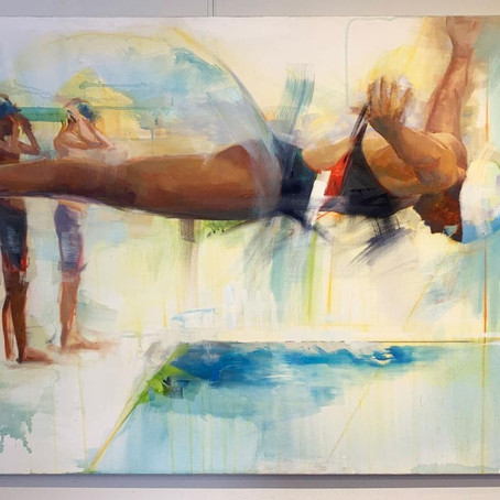 Swimming to the Other Side of a Painting: Guest Blog by Jessica Cook