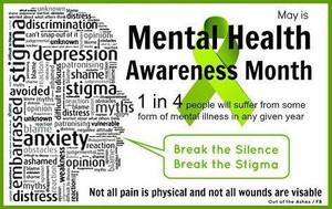 May is Mental Health Awareness Month!