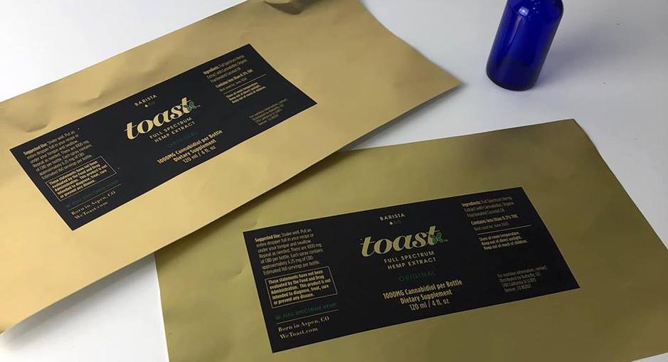 Toast | Label Sample