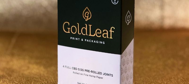 Pre-Roll-Box_Gold-Leaf-Packaging