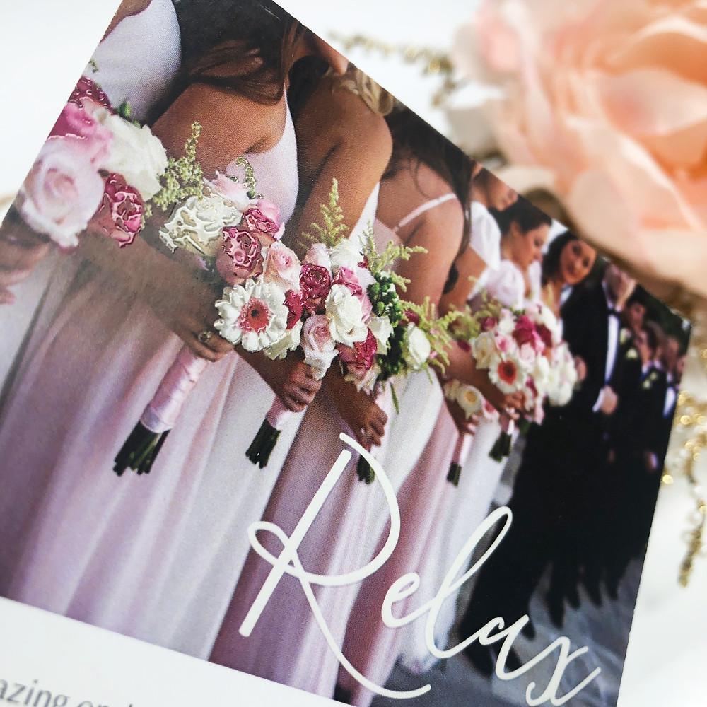 Use raised varnish on sales brochures to make them pop