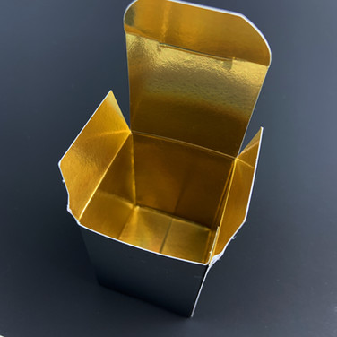 Gold Interior Box