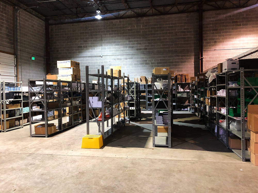 DMS Color warehouses and fulfills marketing collateral orders on behalf of their clients