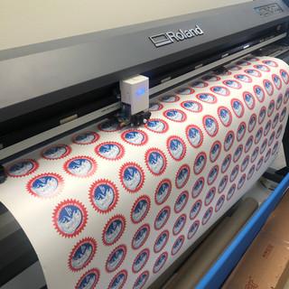Large Format Sticker Printing