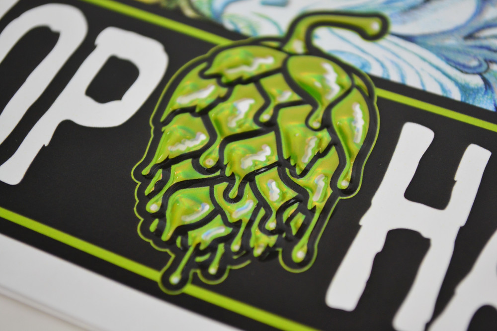 SweetWater Brewing Company Poster for Hop Hash