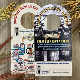 SweetWater Brewing | Information Keg Collars