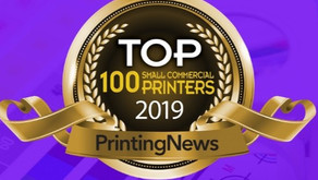 DMS Color named #19 of Printing News Top 100 Small Commercial Printers