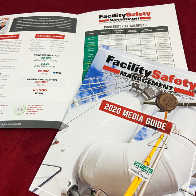Facility Safety Management | Media Guide Printing