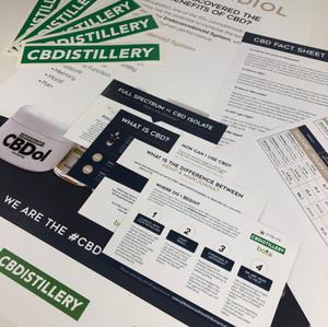CBDistillery  | Marketing Kit