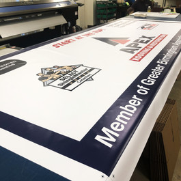 Apex Roofing | Banner Printing