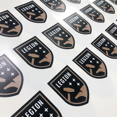 Stickers, Labels, and Decals