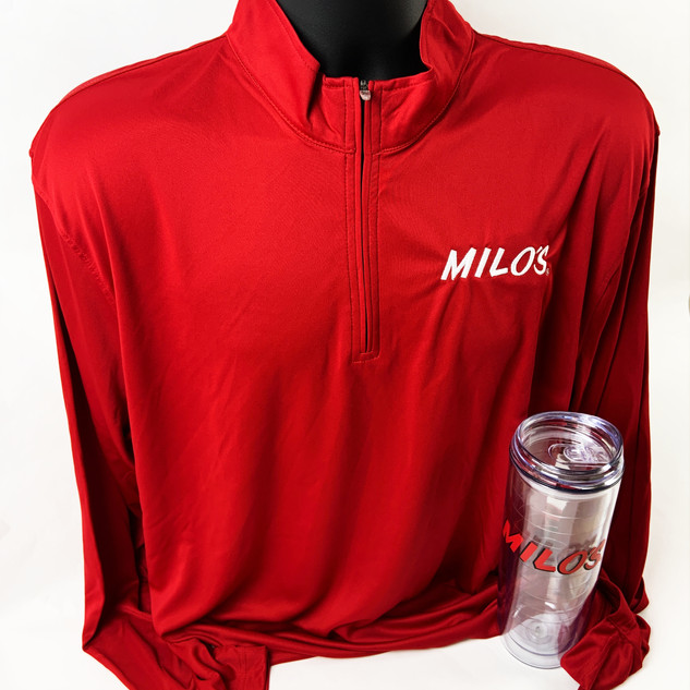 Milos | Custom Pull Over and Cup