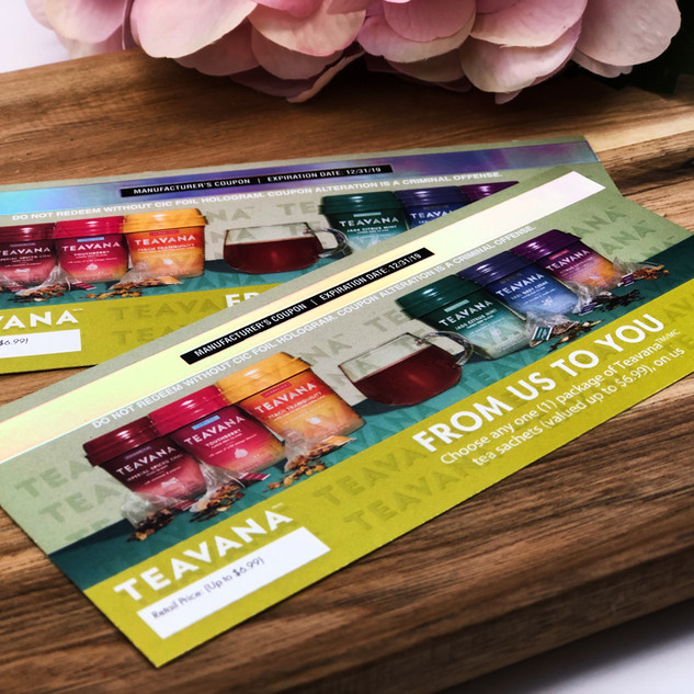 Teavana | Coupon-Printing