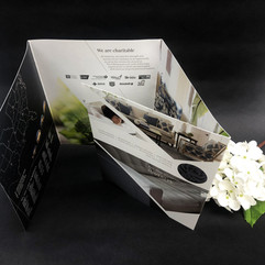 Soft Touch Laminate Brochures